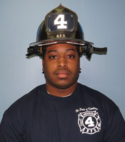 Kahlil Jeter  Probationary Firefighter